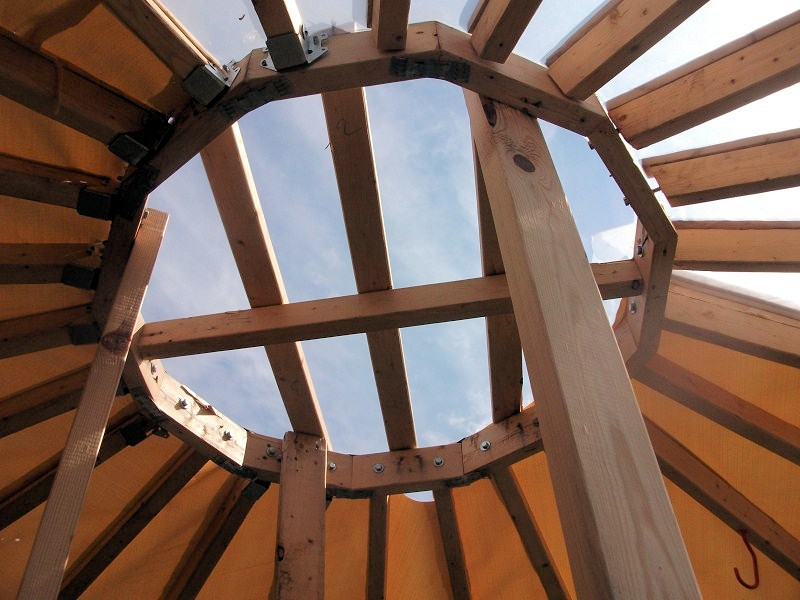 garden center roof ring