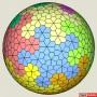 Floret Tessellation Sphere