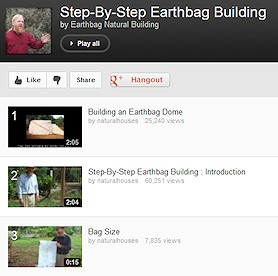Step-By-Step Earthbag Building