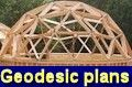 Geodesic home plans