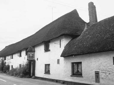 Example of historic cob structure; The Trout Inn in the U.K.