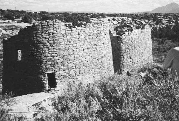 Typical 1,000-year-old Anasazi structure, ovenweep National monument.