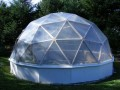 George's Geodesic Greenhouse project
