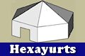 Learn about building heaxayurts and how to build them